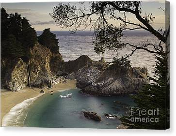 Mcway Falls Canvas Print by Michele Steffey