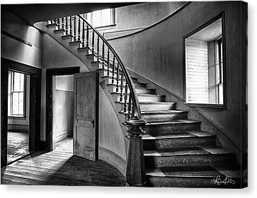 Meade Staircase Canvas Print by Renee Sullivan