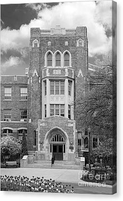 Medaille College Main Building Canvas Print by University Icons