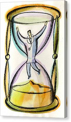 Medical Workload Canvas Print by Leon Zernitsky