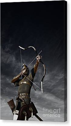Medieval Archer II Canvas Print by Holly Martin