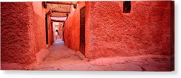 Medina Old Town, Marrakech, Morocco Canvas Print by Panoramic Images