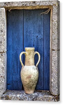 Mediterranean Colors Canvas Print by Georgia Fowler