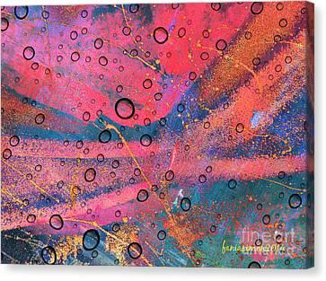 Medium Made From Sand Canvas Print by Fania Simon