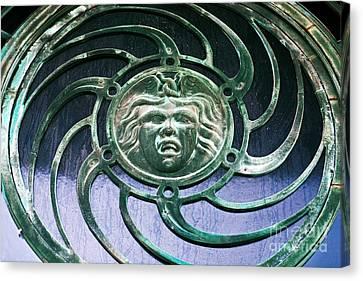Medusa At Asbury Park  Canvas Print by John Rizzuto