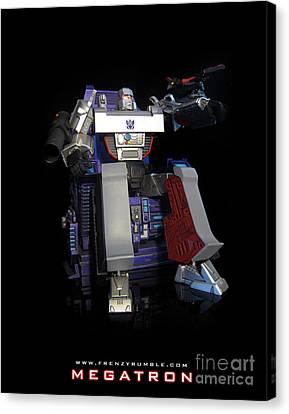 Megatron - G1 Canvas Print by Frenzyrumble