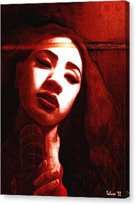 Meisi 2 Canvas Print by Teleita Alusa