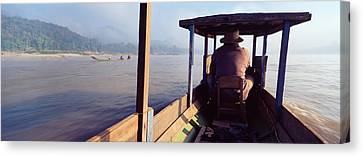 Mekong River, Luang Prabang, Laos Canvas Print by Panoramic Images