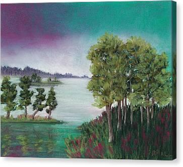Melancholy Thoughts Canvas Print by Anastasiya Malakhova