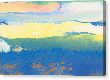 Mellow Light Canvas Print by The Art of Marsha Charlebois