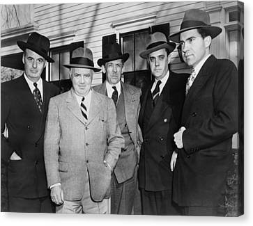 Members Of The House Un-american Canvas Print by Everett