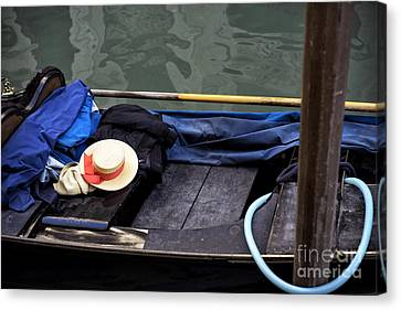 Memories Of A Gondola Ride Canvas Print by John Rizzuto