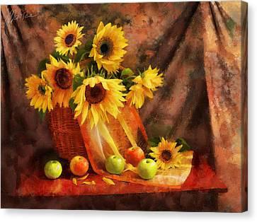 Memories Of Summer Canvas Print by Marina Likholat