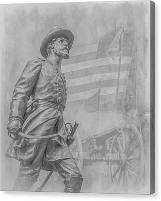 Memories Of The Gettysburg Battle Canvas Print by Randy Steele