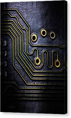 Memory Chip Number Two Canvas Print by Bob Orsillo
