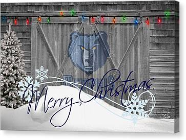 Memphis Grizzlies Canvas Print by Joe Hamilton