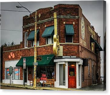Memphis - Sun Studio 003 Canvas Print by Lance Vaughn