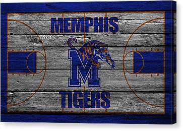 Memphis Tigers Canvas Print by Joe Hamilton