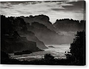 Mendocino Coastline Canvas Print by Robert Woodward