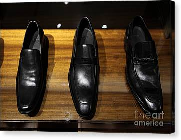 Men's Shoes - 5d20646 Canvas Print by Wingsdomain Art and Photography
