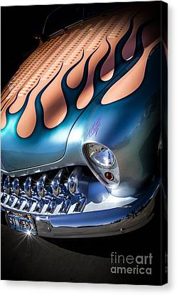Merc Metal- Metal And Speed Canvas Print by Holly Martin