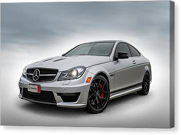 Mercedes Benz Amg C63 Edition 507 Canvas Print by Douglas Pittman