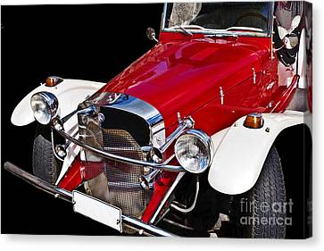 Mercedes Benz Canvas Print by Heiko Koehrer-Wagner