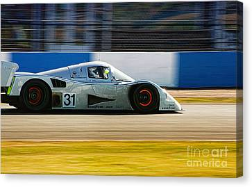 Mercedes C11 Canvas Print by J A Evans