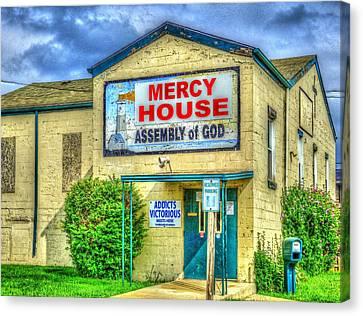 Mercy? Canvas Print by MJ Olsen