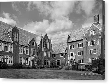 Mercyhurst University Old Main Canvas Print by University Icons