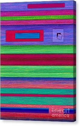 Merger Canvas Print by David K Small