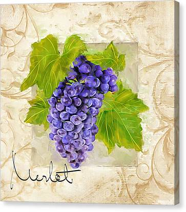 Merlot Canvas Print by Lourry Legarde