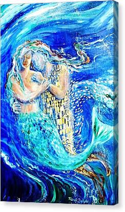 Mermaid Dreamer  Canvas Print by Trudi Doyle