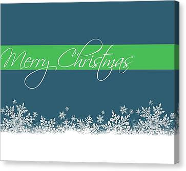 Merry Christmas Canvas Print by Cathie Tyler