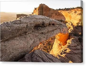 Mesa Arch Sunrise 6 - Canyonlands National Park - Moab Utah Canvas Print by Brian Harig