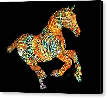 Messenger Canvas Print by Betsy Knapp