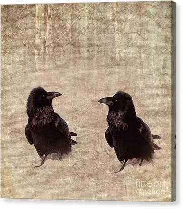 Messenger Canvas Print by Priska Wettstein