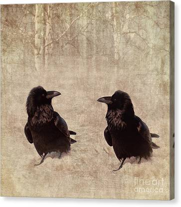 Messenger Canvas Print by Priska Wettstein