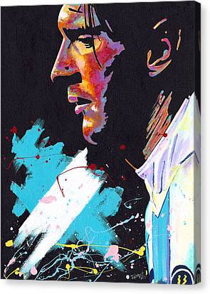 Messi Canvas Print by Jeff Gomez