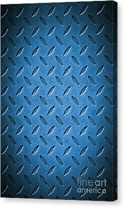 Metal Background Canvas Print by Carlos Caetano