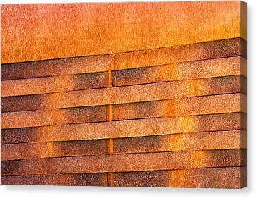 Metal Rust Background Canvas Print by Joel Vieira