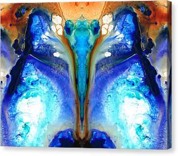 Metamorphosis - Abstract Art By Sharon Cummings Canvas Print by Sharon Cummings