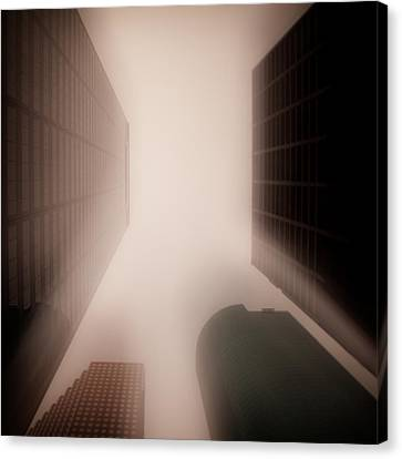 Metropolis Canvas Print by Dave Bowman