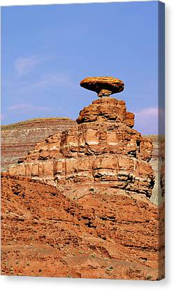 Mexican Hat Utah Canvas Print by Christine Till