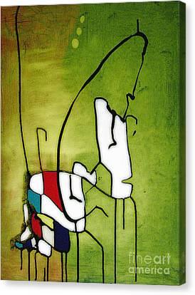 Mi Caballo 2 Canvas Print by Jeff Barrett
