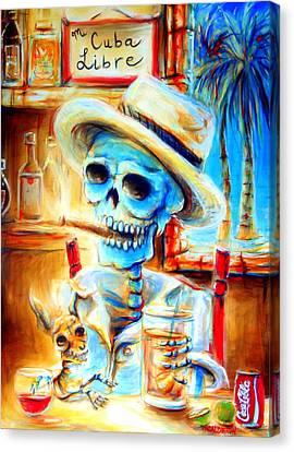 Mi Cuba Libre Canvas Print by Heather Calderon