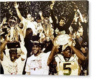 Miami Champions Canvas Print by Bobby Zeik