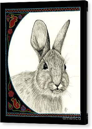 Michabo-the Great Hare Canvas Print by Christine Matha