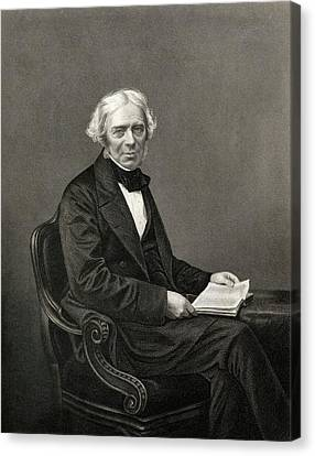 Michael Faraday Canvas Print by Chemical Heritage Foundation