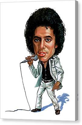 Michael Jackson Canvas Print by Art